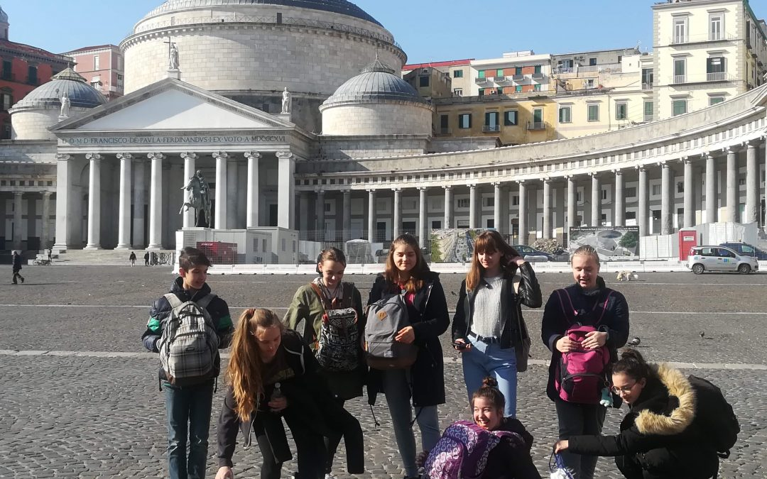UČENCI OŠ VELIKA DOLINA NA PRVI IZMENJAVI V ITALIJI V OKVIRU PROJEKTA ERASMUS+