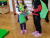 Obisk vrtca Senovo in predaja Zelenega nahrbtnika in zmajčka Jurčka